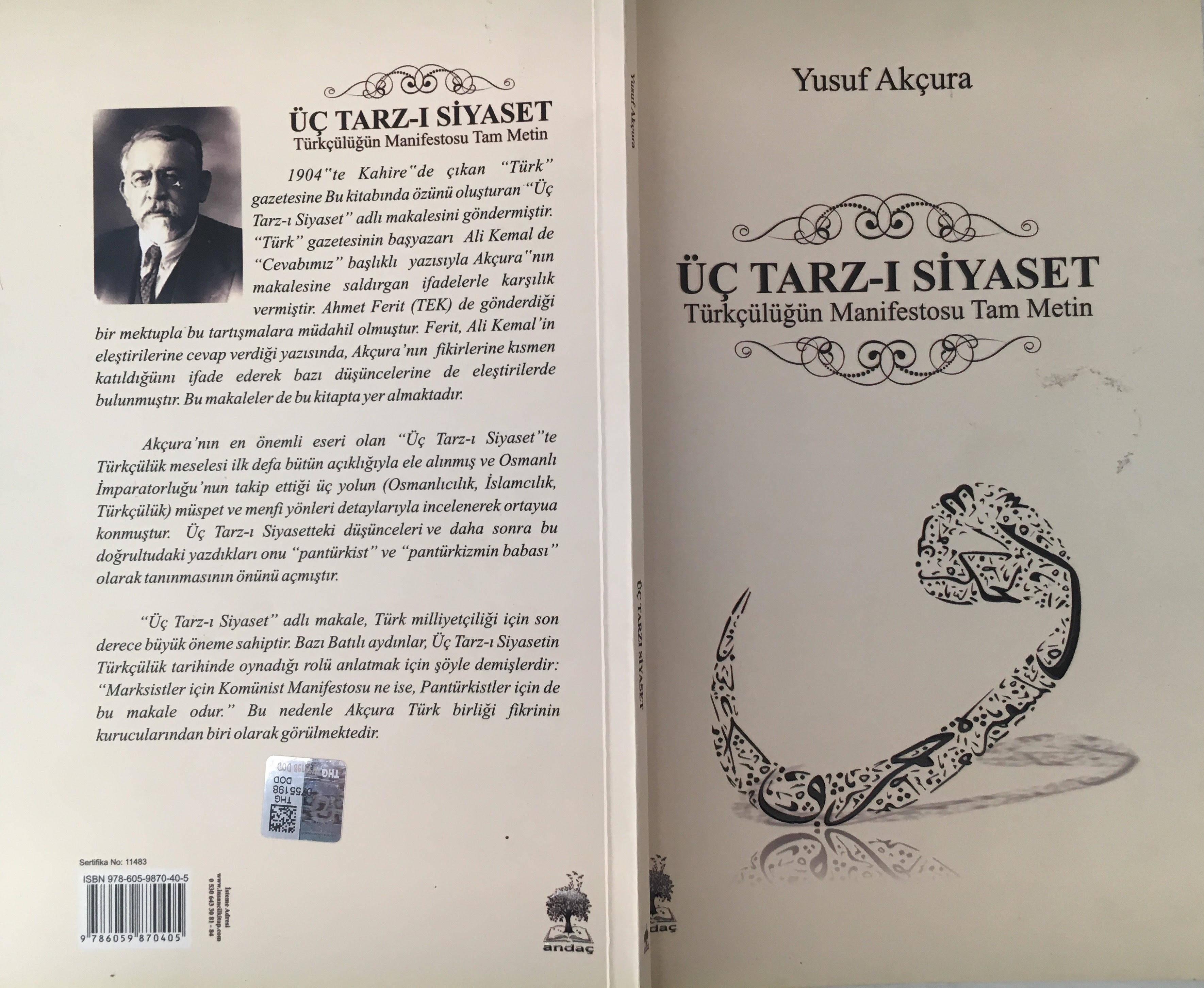 Kitap İncelemesi: Türkçülüğün Manifestosu: Üç Tarzı Siyaset