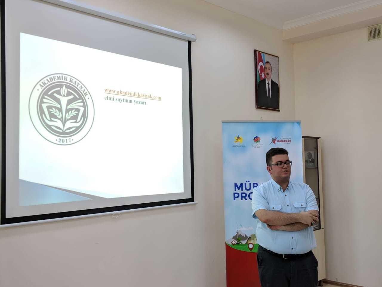 azerbaycan-tanitim Yazarımız Aslan Azimzadeh, Azerbaycan Mingeçevir'de Tanıtımımızı Gerçekleştirdi